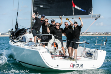 Arcus A35 (John Howell and Paul Newell) - Overall winner of the 2020 IRC National Championship © Paul Wyeth/pwpictures.com