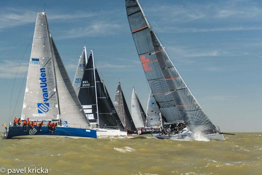 Start of the 2018 North Sea Race (Pavel Kricka)