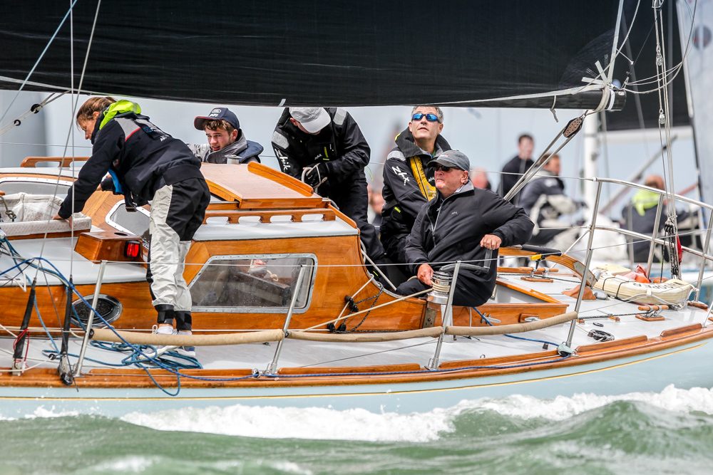Whooper continued her run of bullets in IRC Three - Photo RORC/Paul Wyeth