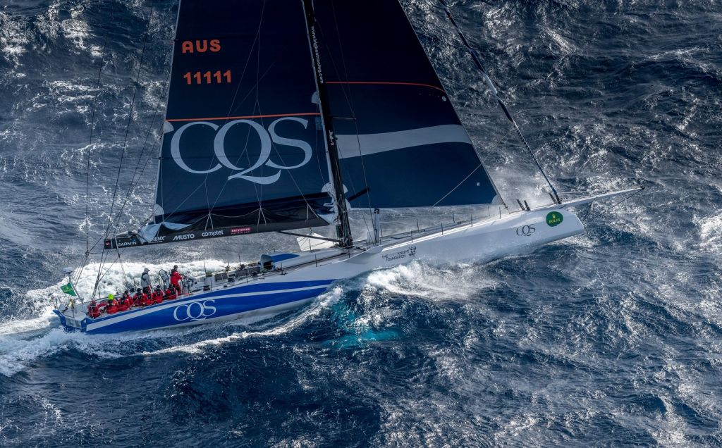 Line Honours favourite for the 2017 RORC Transatlantic Race, part of the Atlantic Anniversary Regatta,  is Ludde Ingvall's 98ft Maxi, CQS © Rolex/Kurt Arrigo