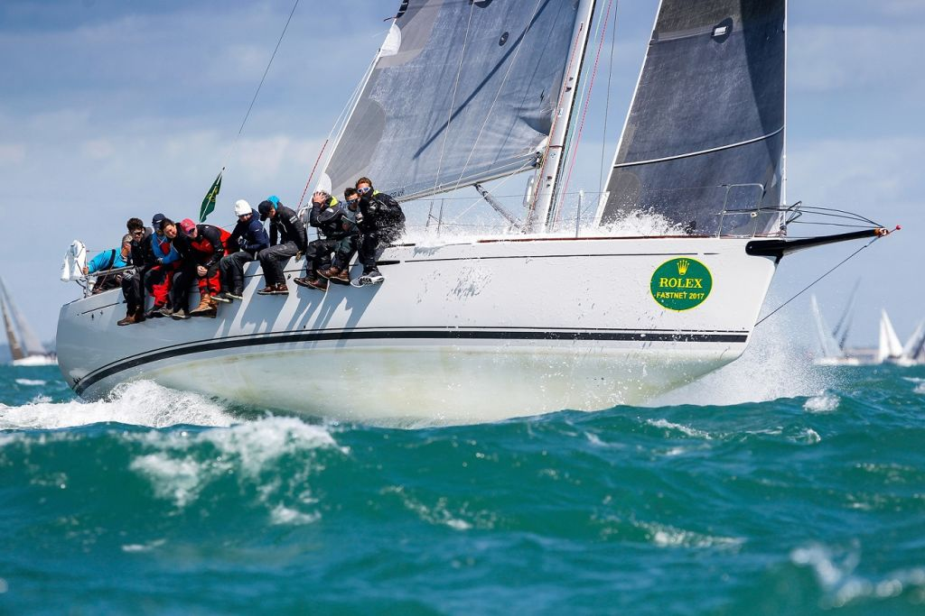 Lisa, 2017 RORC Season's Points Champion and Yacht of the Year
