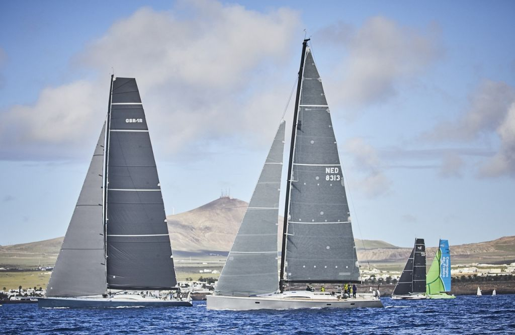 The spectacular volcanic island of Lanzarote makes an impressive backdrop for the RORC Transatlantic Race and  Marina Lanzarote will once again host the start of the Atlantic-bound fleet © RORC/James Mitchell