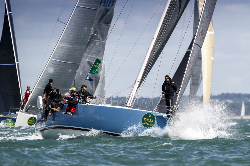 Gilles Fournier's French J/133 Pintia - photo Paul Wyeth