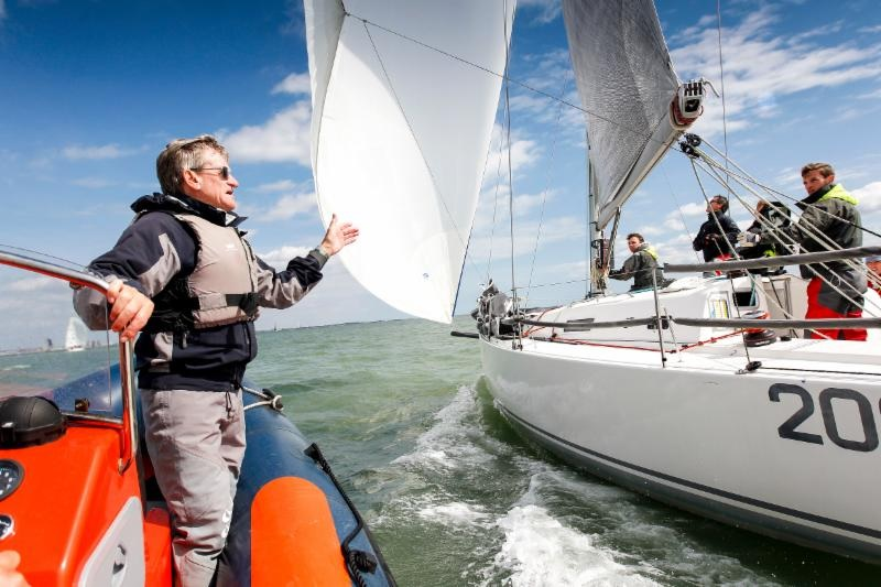 Jim Saltonstall is one of several highly respected experts offering free coaching advice to all, both on and off the water during the RORC Easter Challenge © Paul Wyeth/pwpictures