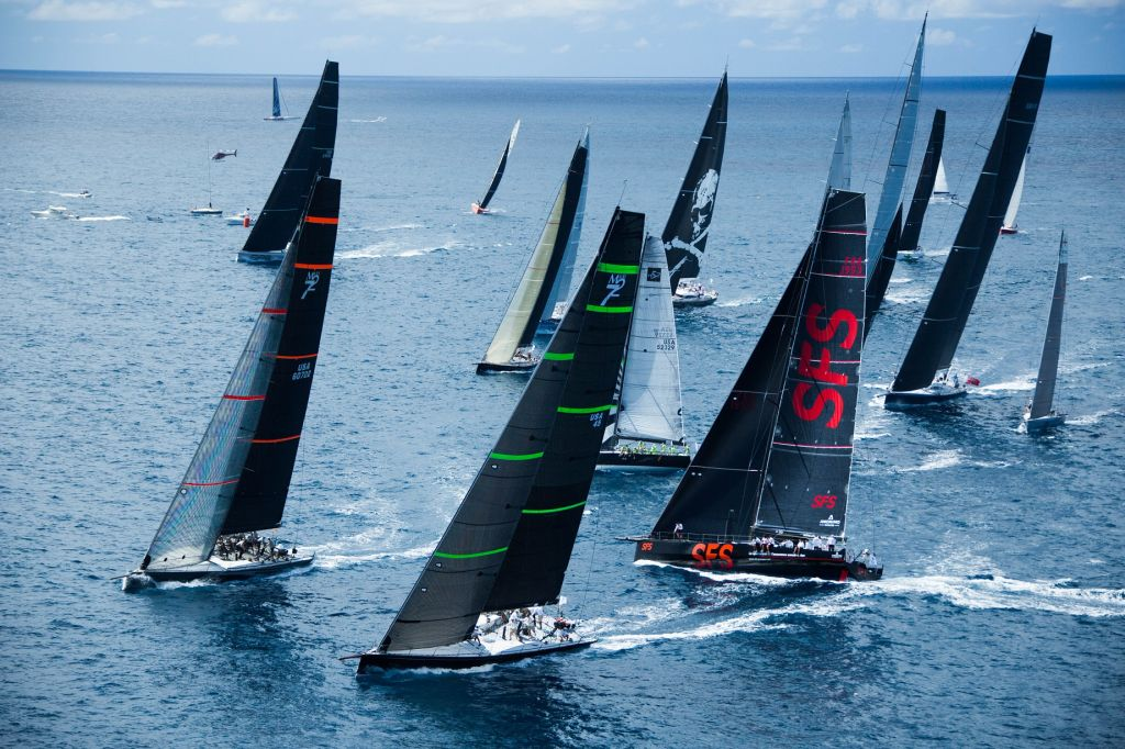 A spectacular start in Antigua is expected on Monday 19th February as the record-breaking fleet of 88 boats sets off on the 10th edition of the RORC Caribbean 600 © ELWJ Photography