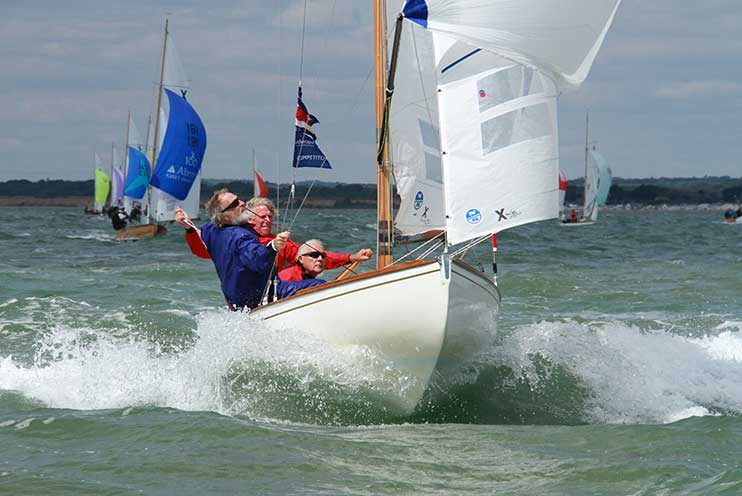 XODs racing in the Solent Photo: XODCA