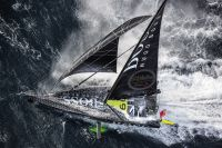 Alex Thomson on HUGO Boss during the 2016 Vendee Globe © Cleo Barnham/Alex Thomson Racing