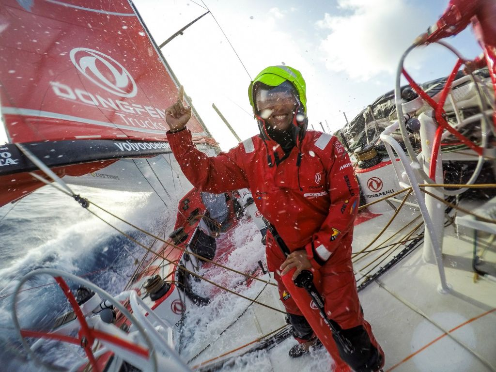 Chen Jin Hao (aka Horace) © Sam Greenfield / Dongfeng Race Team