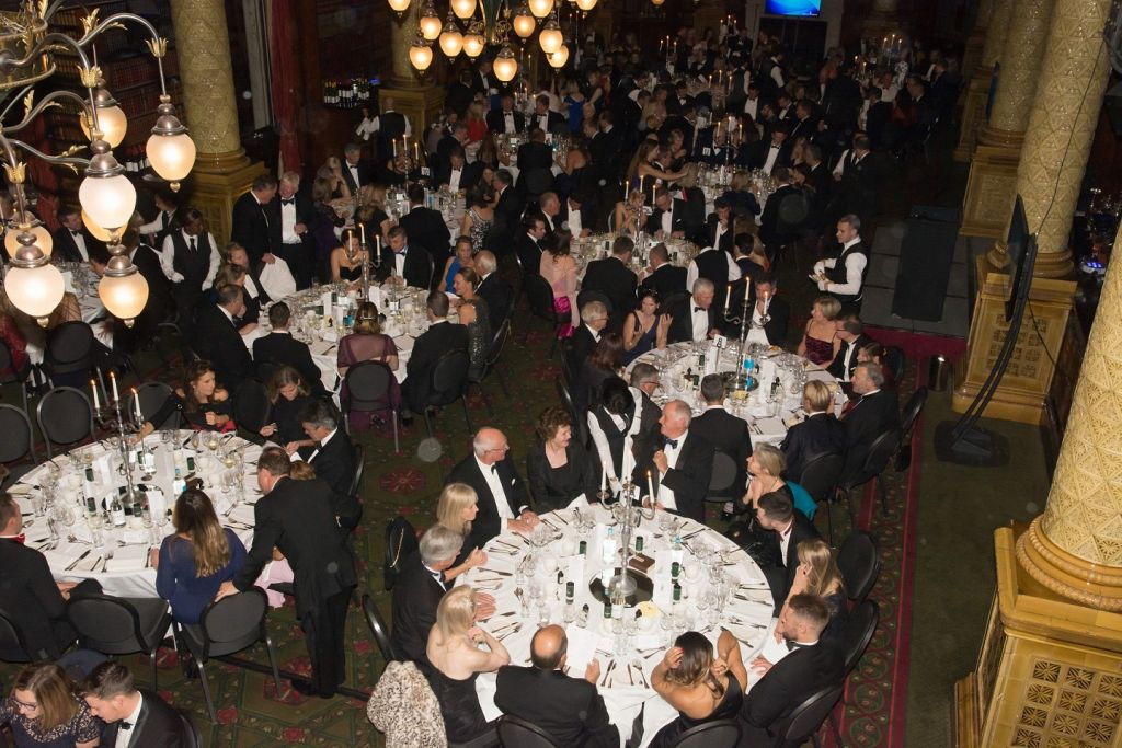 Celebrating the year's achievements at the RORC Annual Dinner & Prizegiving in London  © Mags Hudgell/RORC