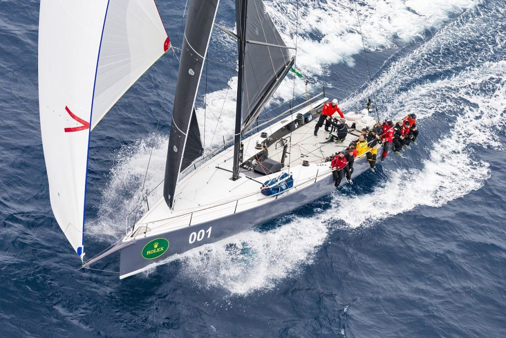 Yacht of the Year - Winner of the 2017 Brisbane to Gladstone Race, the 2017 Rolex Sydney Hobart Yacht Race, the 2018 Brisbane Gladstone Race and 2nd in the 2018 Sydney Gold Coast Race. This series of results in the three major Ocean races in Australia has never been matched. © Rolex/Carlo Borlenghi