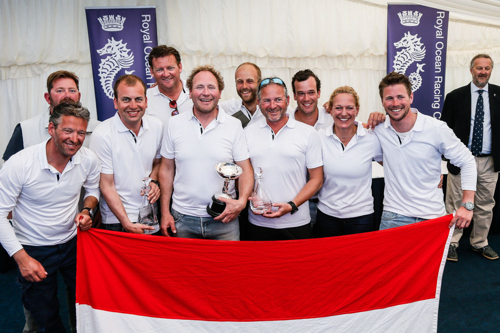 Dutch victory in IRC Two for Frans and Carla Rodenburg's First 40 © Paul Wyeth/pwpictures.com