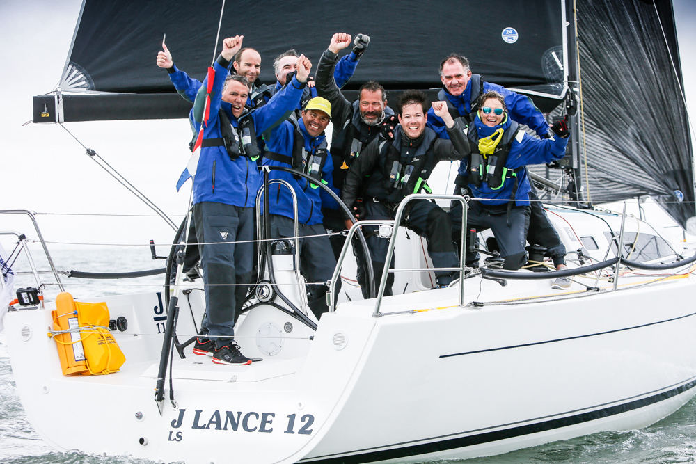Didier le Moal's French J/112e J Lance 12 has been crowned 2018 IRC European champion  © Paul Wyeth/pwpictures.com