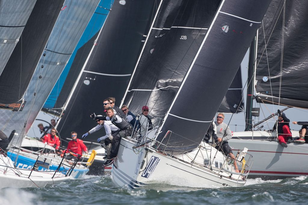 Another day of tight tactical sailing in Class C © Sander van der Borch