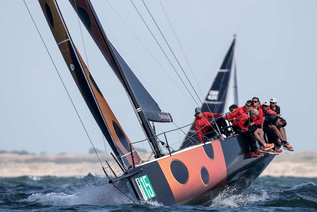 Leeloo had a great first inshore race in Class B © Sander van der Borch