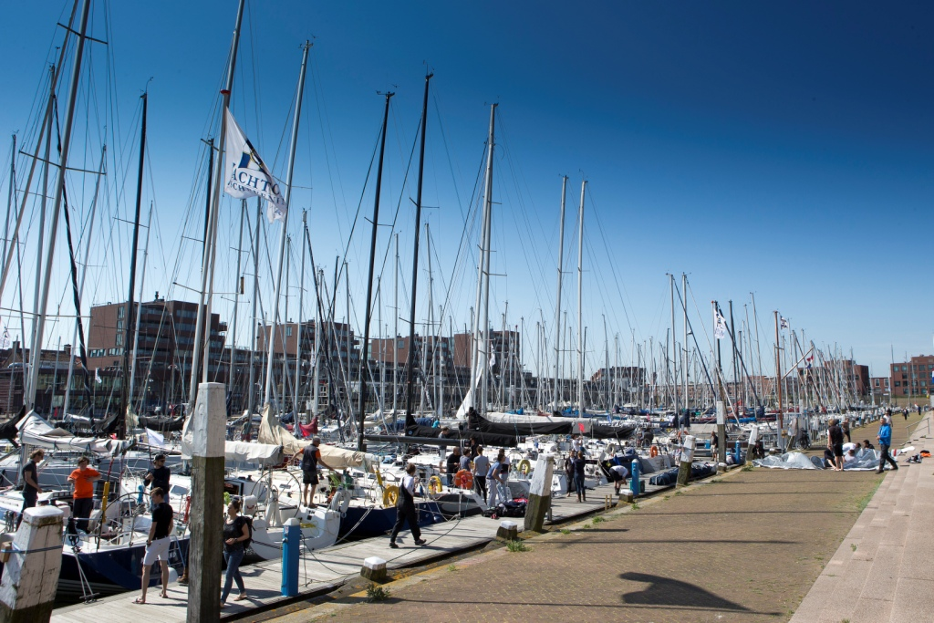 The Harbor at Scheveningen will be active before, during and after racing throughout the event © Sander van der Borch