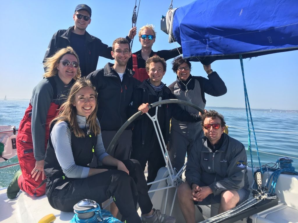 A young experienced crew from The Oxford University Yacht Club will be racing Prima 38 Talisman in the Sevenstar Round Britain and Ireland Race © Oxford University Yacht Club