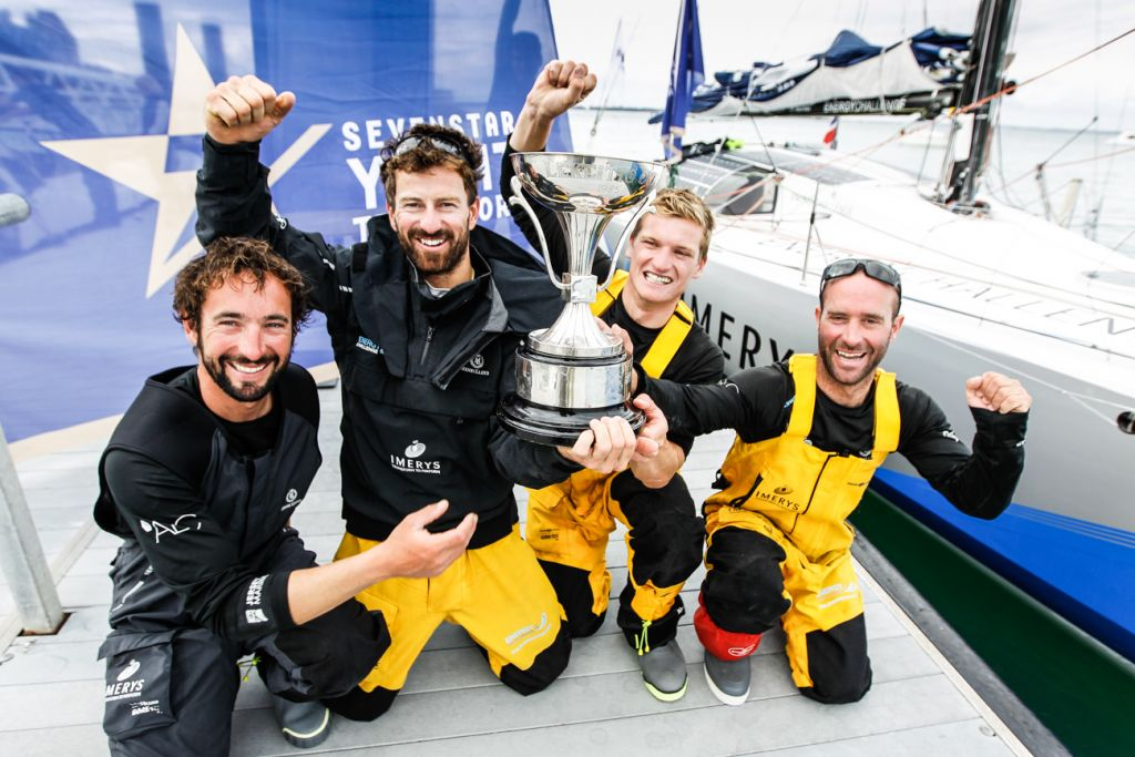 Class40 Imerys Clean Energy: Julien Pulve, Phil Sharp, Sam Matson, Pablo Santurde © Paul Wyeth