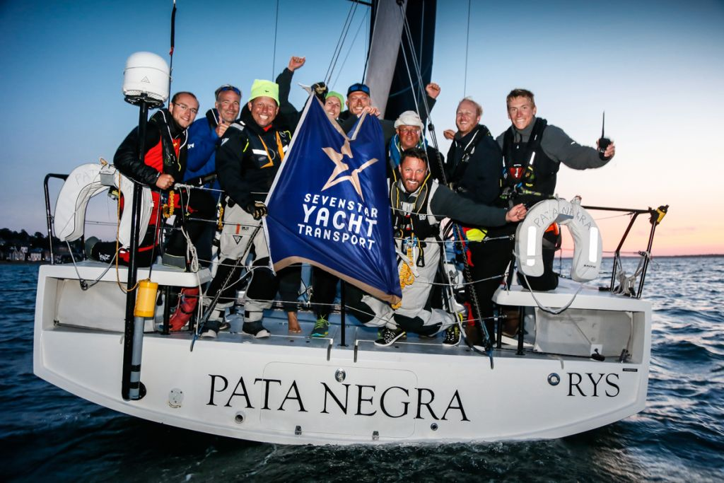 Overall winner of the 2018 Sevenstar Round Britain and Ireland Race - Giles Redpath's Lombard 46 Pata Negra © Paul Wyeth