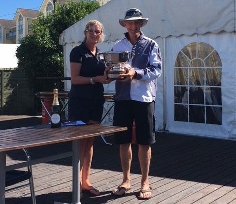 Roger Yeoman, winner of the 2018 RORC Telegraph Bowl, sailing 'Xcitation'