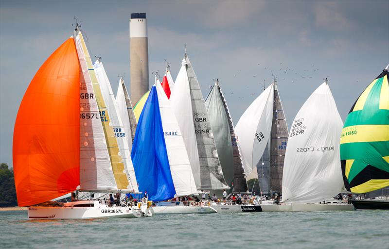 A record entry of over 140 yachts will be competing in the Royal Ocean Racing Club's 2019 Myth of Malham Race © Paul Wyeth/RORC