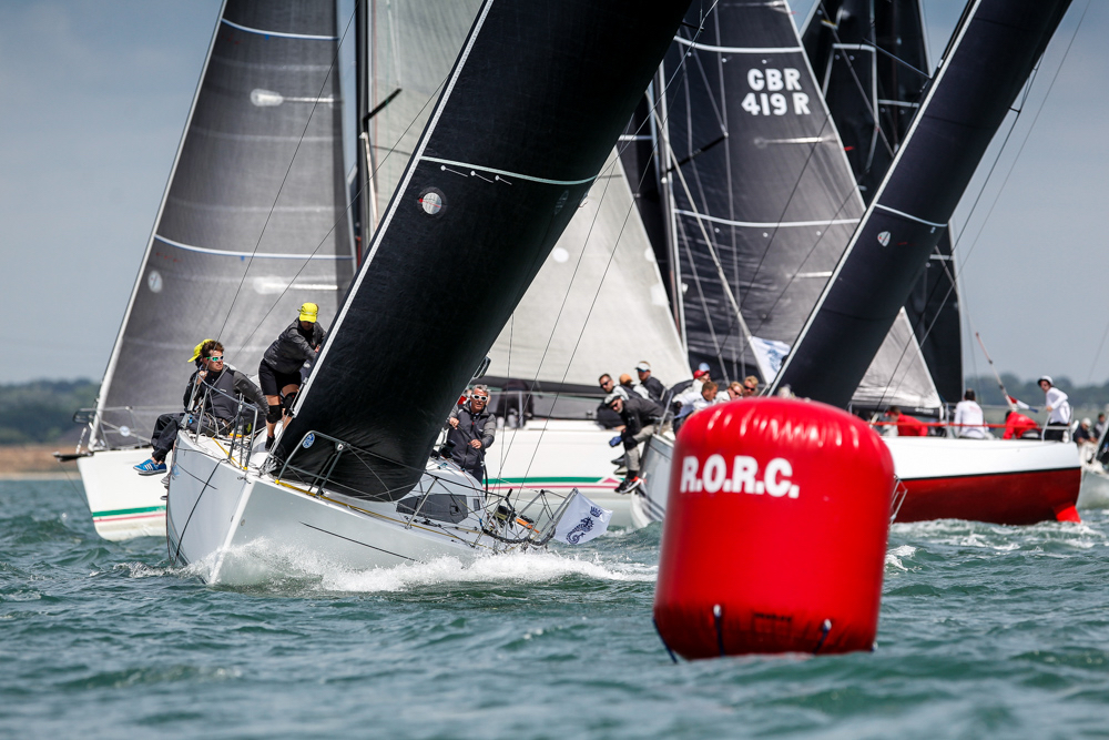 Didier Le Moal's J/112e J Lance 12 in IRC Three scored two more bullets on the penultimate day of racing at the IRC European Championship in the Solent © Paul Wyeth/pwpictures.com