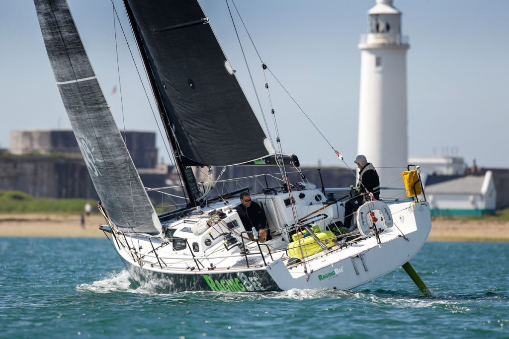 Louis-Marie Dussere's JPK 10.80 Raging Bee2 © Paul Wyeth/pwpictures.com