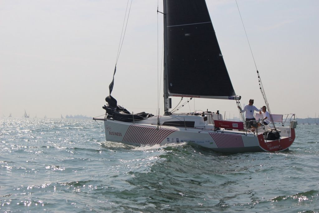 Competing in the Virgin Media Business sponsored yacht - GameOn - their fundraising target is to turn the 1,805 nautical miles of the race into £18,050 for Scope, with the help of employees who are actively supporting the challenge © Ian Hoddle