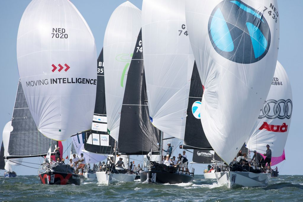 Close competitive racing awaits those who attend next year's 2020 ORC/IRC World Championship in Newport,  Rhode Island, USA © Sander van der Borch