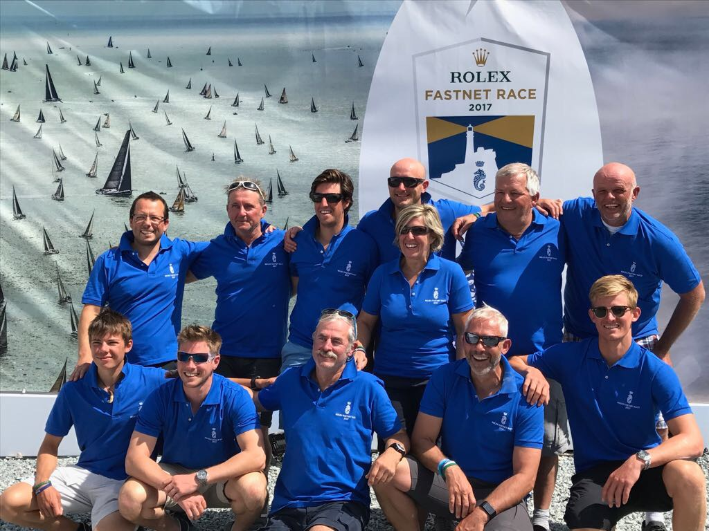 10th Fastnet on their First 47.7 for the Goubau family (Father, Mother and three sons) from Ghent, Belgium who have achieved three podium class places in previous editions © Goubau