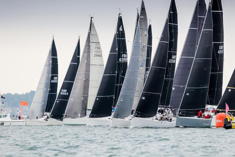 Close racing in the 2018 IRC European Championships © Paul Wyeth / pwpictures.com