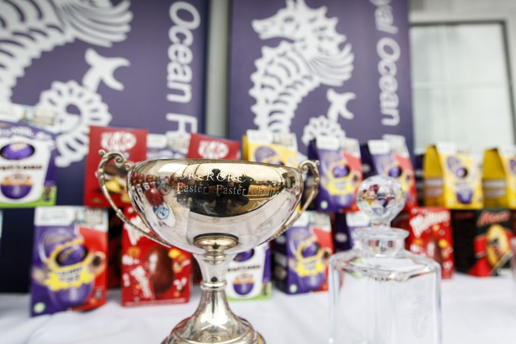 Plenty of chocolate Easter eggs and silverware await winners at the RORC Easter Challenge © Paul Wyeth