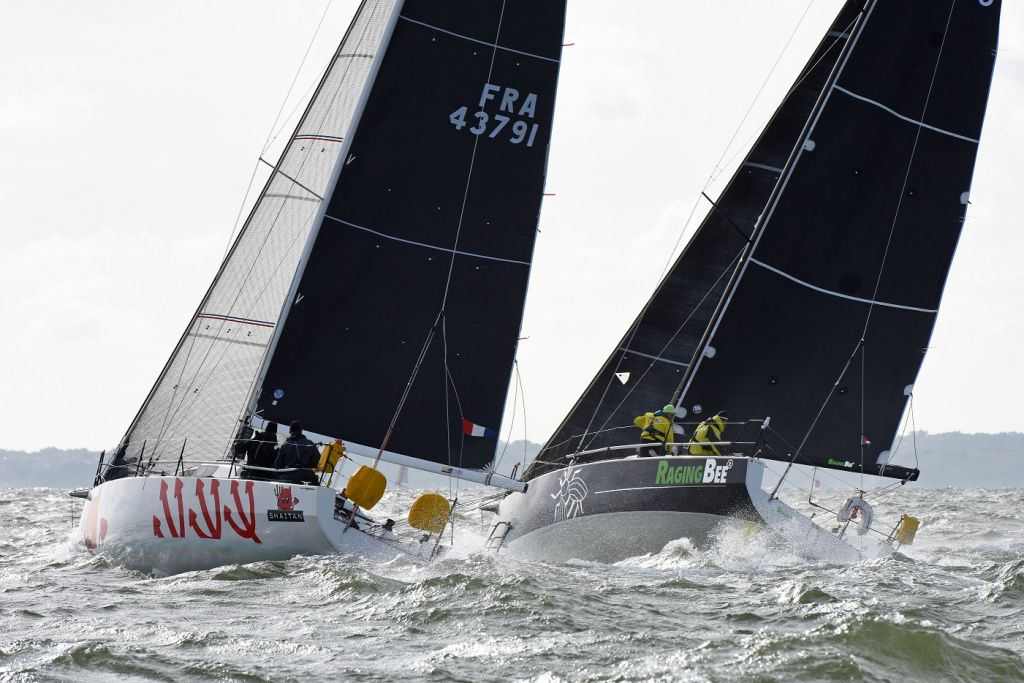 Shaitan and Raging-bee² at the 2019 Cervantes Trophy Race © Rick Tomlinson