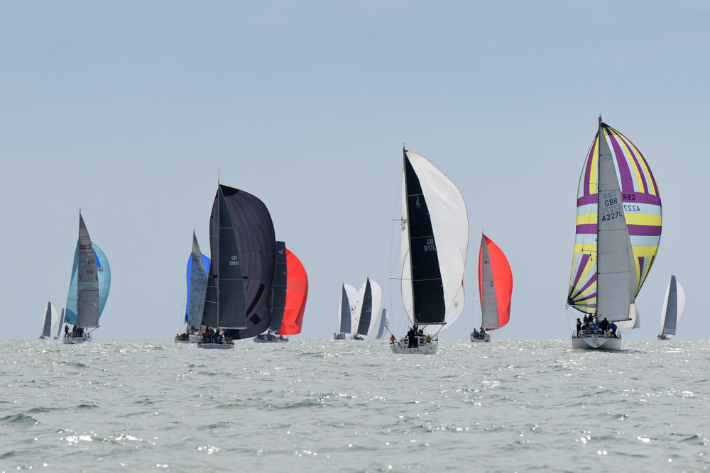 77 teams competed in the 2019 RORC Channel Race © RORC/Rick Tomlinson