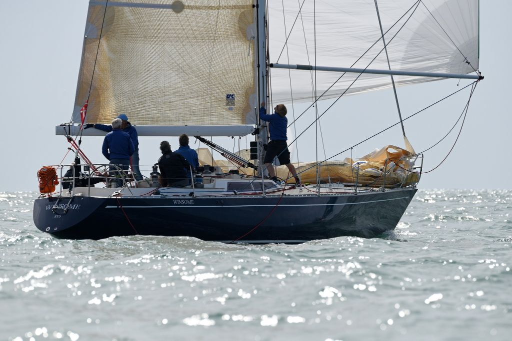 IRC 4 winner Harry Heijst's Dutch S&S 41 Winsome © RORC/Rick Tomlinson