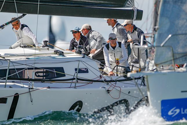 Looking forward to a close contest and top competition in the fleet - 2012 IRC National Champion, David Franks is striving for an overall win on his J/122e Leon© Paul Wyeth