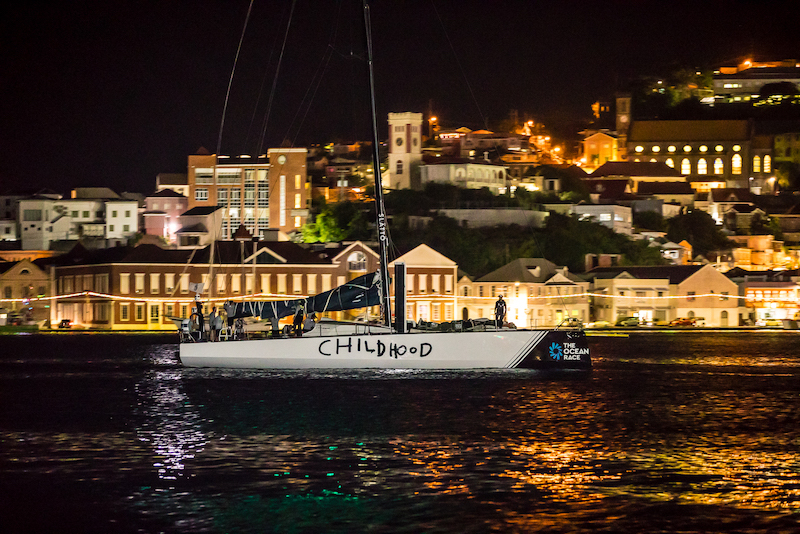 Childhood 1 arrives at Camper & Nicholsons Port Louis Marina, Grenada - Photo © RORC / Arthur Daniel