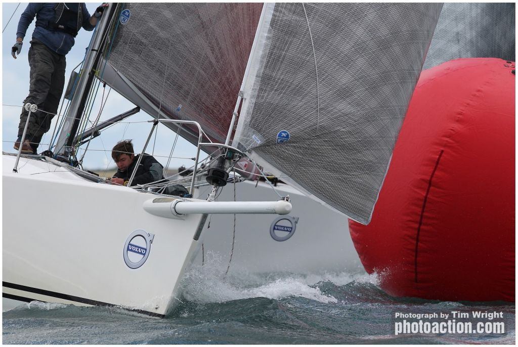 Close racing at Volvo Cork Week © Tim Wright/Photoaction.com