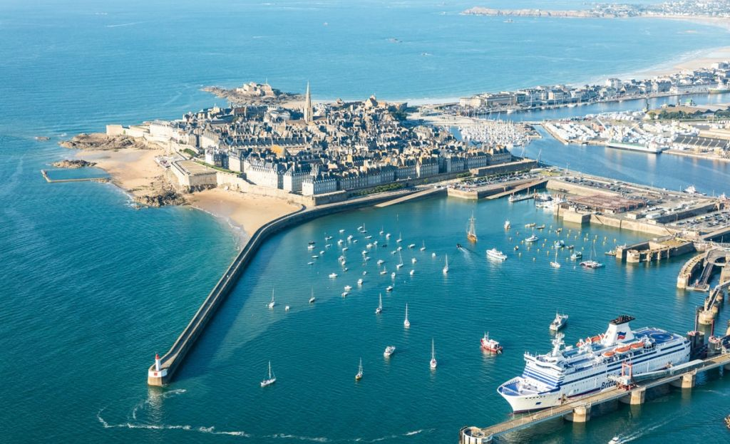 The fortified city of Saint-Malo will be celebrating French National Day this weekend. (St Malo Tourisme)