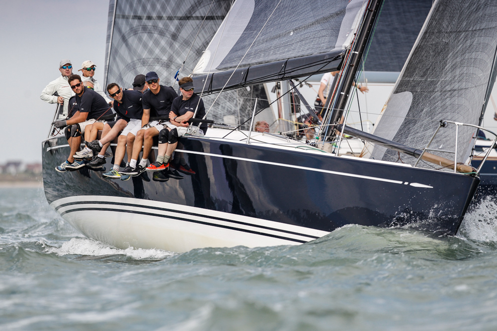 Robert Bicket's Swan 42 Fargo racing with an all-star cast © Paul Wyeth