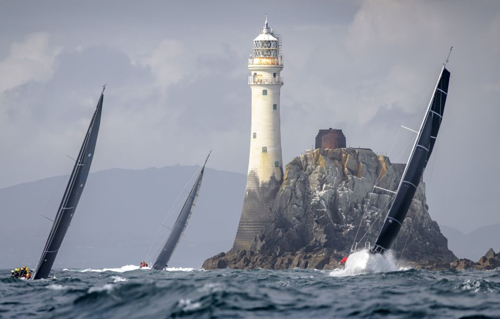 The Fastnet Rock is the iconic symbol of the Rolex Fastnet Race © Rolex/Kurt Arrigo