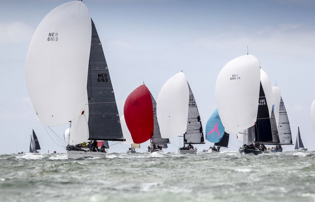 A strong line-up for the Royal Ocean Racing Club's IRC Nationals on the Solent from 5-7 July © Paul Wyeth/pwpictures.com