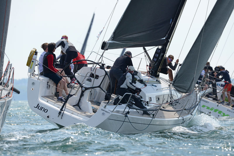 Currently leading the Performance 40 Class - Christopher Daniel's J/122E Juno © Rick Tomlinson/http://www.rick-tomlinson.com/