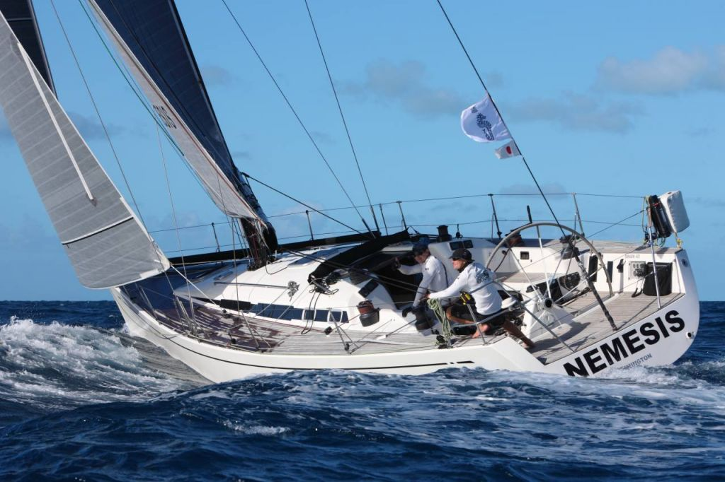 James Heald will be racing his Swan 45 Nemesis doublehanded with Peter Doggart © Tim Wright/photoaction.com