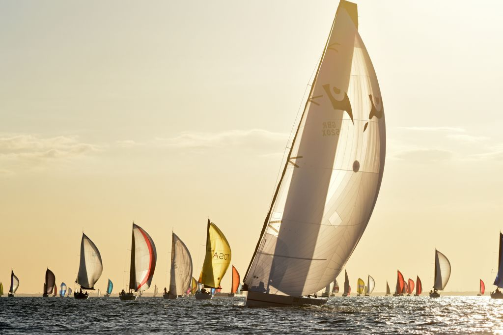 Start of the 2019 Morgan Cup © RORC/Rick Tomlinson