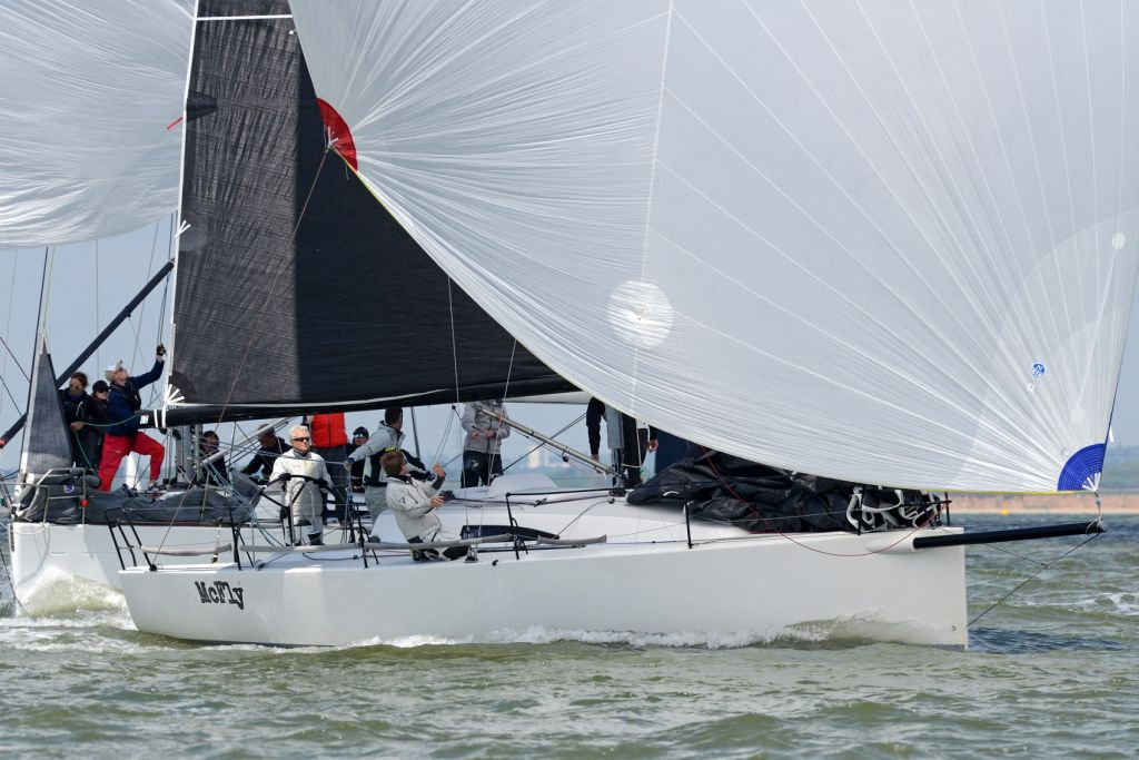 McFly dominated the J/111 fleet today © Rick Tomlinson