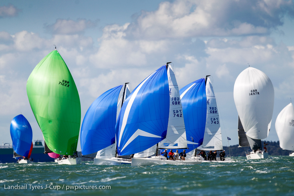 50 J Boats with over 200 crew enjoying great racing © Paul Wyeth