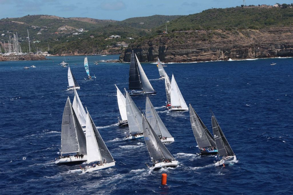 The 2020 RORC Caribbean 600 starts from Antigua in just over a month's time. Once again it will see a highly competitive fleet competing in IRC Two and Three © Tim Wright/Photoaction.com