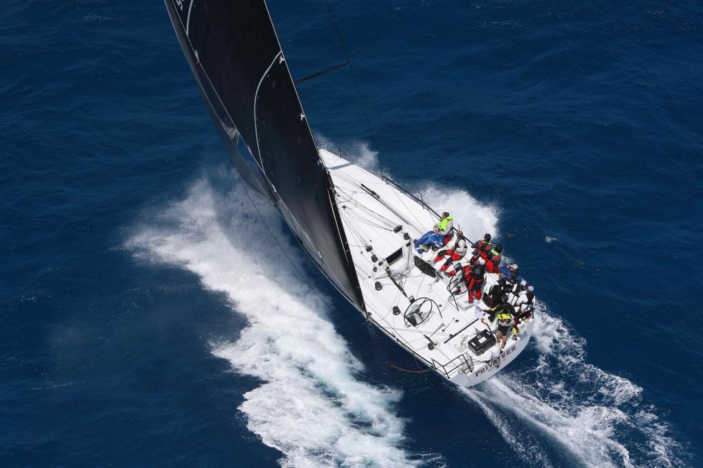 Several previous winners of the RORC Caribbean 600 Trophy will be on the startline and include Ron O'Hanley's American Cookson 50 Privateer © Tim Wright/Photoaction.com