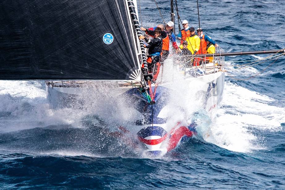 Can Wizard make it two in a row? David & Peter Askew's Volvo 70 (USA) is back to defend their  title following last year's overall win in Antigua's RORC Caribbean 600 © Arthur Daniel