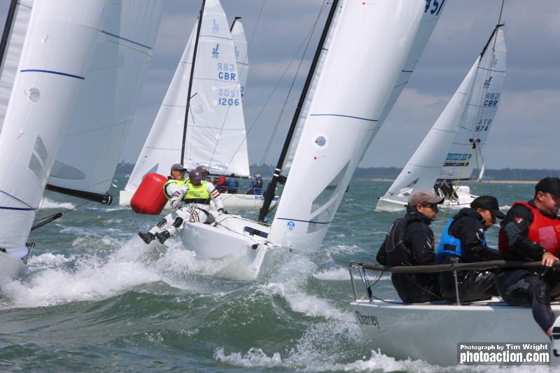 J/70s racing at the J-Cup 2019 © Tim Wright / photoaction.com